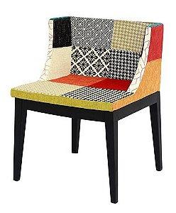 Cadeira Cristie Estampa Patchwork