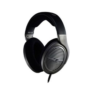 Fone de Ouvido Headphone Sennheiser HD518 Preto/Prata
