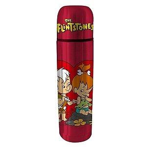 Garrafa Térmica Aço Inox Hanna Barbera Flinstones Pedrita e Bam Bam (28212)