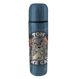 Garrafa Térmica Aço Inox Hanna Barbera Tom e Jerry (28216)