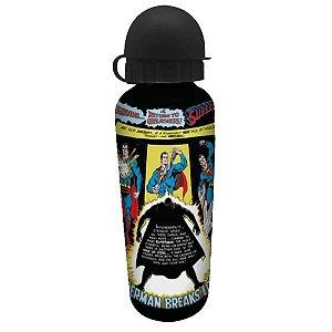 Garrafa Squeeze Alumínio Dc Superman 500ml Liga Da Justiça (25019)
