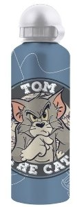 Squeeze Alumínio Hanna Barbera Tom e Jerry Azul 500ml