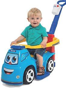 Carrinho Infantil Big Truck Polícia
