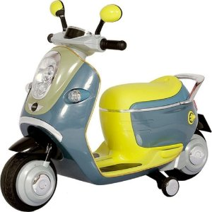 Moto Elétrica Mini Scooter Vrd Amarela Biemme