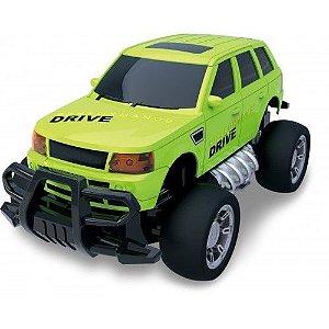 Carro Controle Remoto Super Jipe Speedmundi Verde