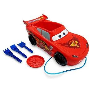 Carro Mcqueen Praia Carros Disney Toyng Com Acessórios (26740)