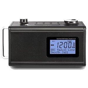 Rádio Relógio Digital R5 Preto Teac