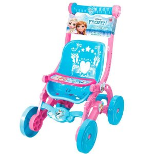 Carrinho De Boneca Frozen Infantil Líder