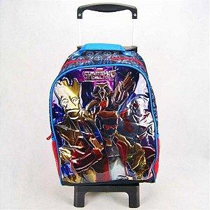 Mochila de Rodinhas Mochilete Escolar Marvel Guardiões da Galáxia (48716)