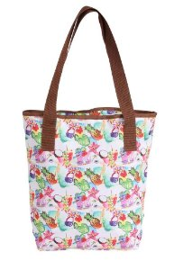 Bolsa Tote Mtv Colorida Tropical 48765