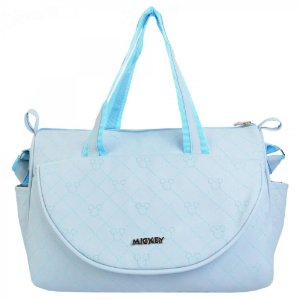 Bolsa Para Bebê Baby Bag Mickey Com Trocador Grande 01972