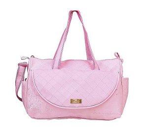 Bolsa Para Bebê Baby Bag Princesas Com Trocador Grande 01974