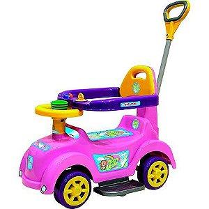 Andador Baby Car Biemme Rosa Infantil 509