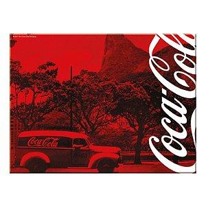 Tábua De Corte Em Vidro Coca Cola Landscape 20x30cm (26807)