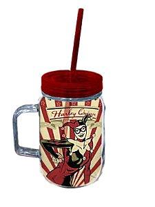 Copo Jarra DC Comics Harley Quinn Arlequina 550ml (40121)