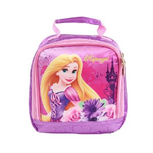 Lancheira Soft Rapunzel Disney Rosa Dermiwil Infantil 60426