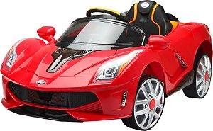 Carro Elétrico Esportivo Luxo Vermelho Com Controle 926700