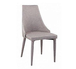 Cadeira Bella Em Tecido Marrom Claro (cd236-37)