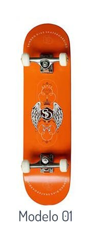 Skateboard Profissional Sandro Dias
