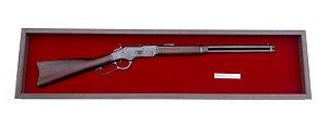 Quadro Réplica Da Arma Winchester 1873 Cal.44-40 W.C.E
