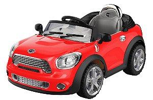 Carro Elétrico Conversível Vermelho Com Controle Remoto