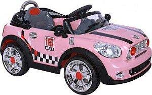 Carro Conversível Rosa Com Controle Remoto (Bivolt) - Bel Brink