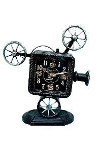 Relógio Decorativo De Mesa Câmera (RE359)