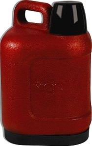 Garrafão Térmico Amigo 5 Litros Mor Vermelho