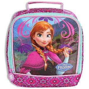 Lancheira Anna Frozen Disney Rosa Escolar Infantil (60216)