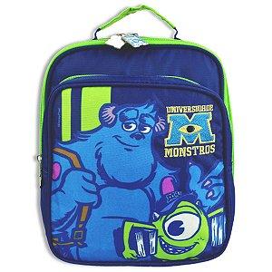 Lancheira Disney Universidade Monstros Infantil Escolar Azul 60480