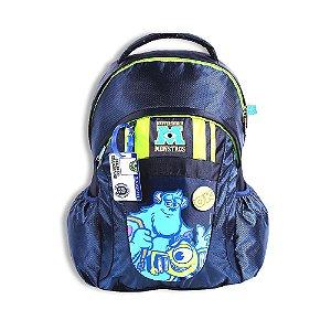 Mochila De Costas Universidade Monstros Azul Escolar (60481)