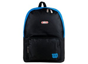 Mochila Esportiva Wilson Preta E Azul (wtix13551a)