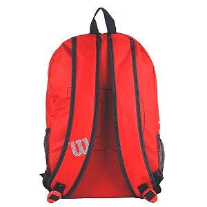 Mochila Esportiva Wilson Vermelha E Cinza (wtix13541b)