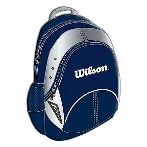 Mochila Esportiva Wilson Azul Unissex Escolar (wtix13340f)