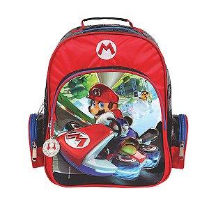 Mochila De Costas Mario Bros Nintendo Infantil Escolar 49072