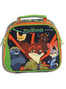 Lancheira Térmica Disney Zootopia Escolar Infantil com Pote e Squeeze