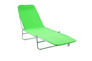 Cadeira Espreguiçadeira Poliester Bel Fix Verde 6000