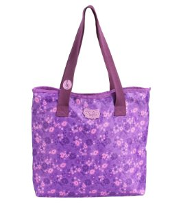 Tote P Escolar Dermiwil Flowers Violetta 60489