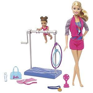 Boneca Barbie Treinadora De Ginástica