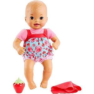 Boneca Little Mommy Recem Nascido Morango