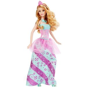 Boneca Barbie Princesa - Reinos Mágicos - Reino dos Doces