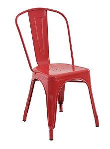 Cadeira Iron Tolix Vermelha