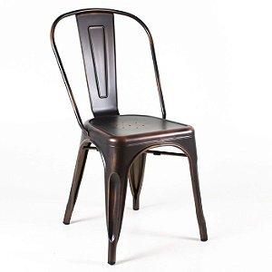 Cadeira Iron Tolix Bronze