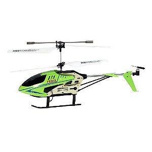Helicoptero Fenix c/ Controle Remoto 3 canais(Verde)