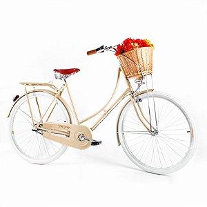 Bicicleta Vintage Retrô Ísis Plus Gold Aro 28 com Marcha