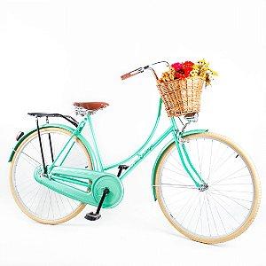 Bicicleta Vintage Retrô Ísis Verde Aro 28 sem Marcha