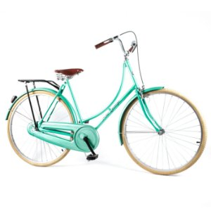 Bicicleta Vintage Retrô Ícaro Verde Aro 28 Sem Marcha