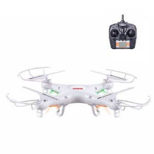 Drone Quadricóptero X5 Explorer 4-Canais (Branco)