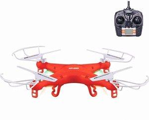 Drone Quadricóptero X5 Explorer 4-Canais (Vermelho)