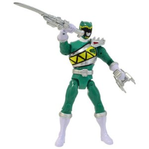 Boneco Power Ranger Dino Charger Spinning Action Ranger Verde